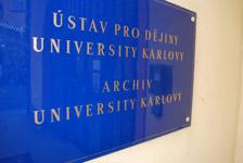 Ústav dějin Univerzity Karlovy a archiv Univerzity Karlovy